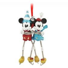Disney Store Mickey and Minnie Mouse Sketchbook Ornament Vintage Toy Series NIB
