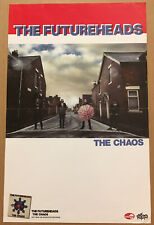 The Futureheads Rare 2010 Promo Poster for Chaos Cd 11x17 Never Displayed Usa