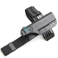 Quick-release Tactical Drop Leg Holster for Glock 17 18 19 21 22 23 26 30 Black