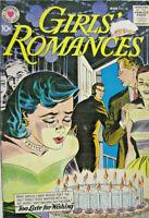 Girls' Romances #58 DC Comic Silver Age 1958 VG+
