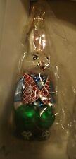 "Christopher Radko Christmas Ornament ""Billy Bunny Gem"""