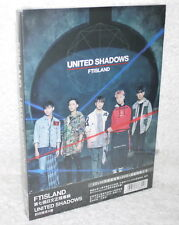 F.T Island FTIsland NUNITED SHADOWS 2017 Taiwan Ltd CD+DVD+44P+Card