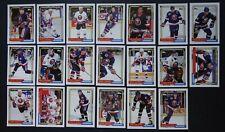 1992-93 Topps New York Islanders Team Set of 20 Hockey Cards