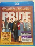 Pride (Blu-ray Disc, 2014)(NEW) Bill Nighy, Imelda Staunton