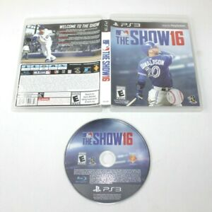 Sony Playstation 3 PS3 MLB The Show 16 2016 Baseball Video Game