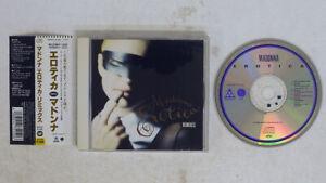MADONNA EROTICA (REMIXES) MAVERICK JAPAN OBI PROMO 1CD