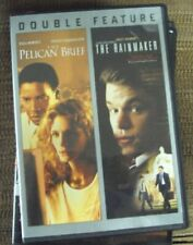 THE PELICAN BRIEF/THE RAINMAKER 2xDVD John Grisham mystery Julia Roberts