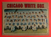 1970 Topps Card #501 Chicago White Sox Team Card