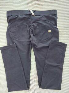 Freddy WR. UP Pantalone Lungo Schwarz Stoff Leggings M - 38  Medium