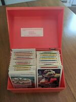 Vintage The Betty Crocker Red Recipe Card Library Box 1971