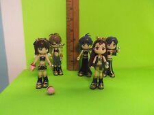 """5 Idol@master Haruka Amami Chihaya Kisaragi Iori Minase 3.5""""in Mini Figures Cute"""