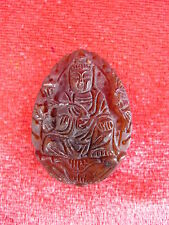 beautiful ,old pendants__China__buddha__carved stone__amulet __