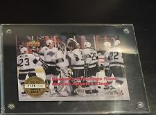 1992-1993 UPPER DECK LIMITED EDITION CARD #2788 OF 7,000 L.A. KINGS w/ GRETZKY
