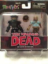 Walking Dead Minimates series 3 Riot gear Rick Grimes and Guard Zombie
