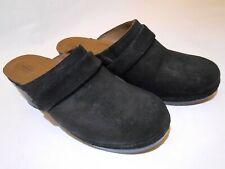 Crocs Triple Comfort Women Mules Clogs Backless Shoes W8 Black 203415