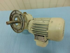 SNT VDE0530 Electric Motor .35HP .25kW 1.33/.77A 278/480V w/ SNT 1:20 Gearbox