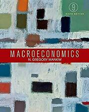 Macroeconomics Hardcover N. Gregory Mankiw