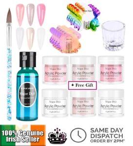 Acrylic Starter Set DIY Powder Nail Crystal Monomer Liquid Practice Beginner Kit