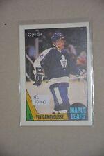 1987-88 O-Pee-Chee rookie Vin Damphousse