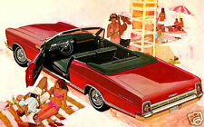 1967 Ford GALAXIE 500 Convertible, Refrigerator Magnet, RED, 40 MIL