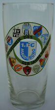 Orig.Glass  1.FC MAGDEBURG 1976 - 1980 vs. ARSENAL / WREXHAM / LENS / TURIN /..!