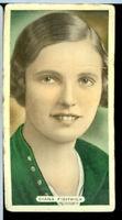 1930s Cricket Tennis Golf Tobacco Card Diana Fishwick