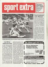BL 91/92 VfB Stuttgart - Hamburger SV