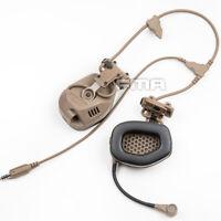 Voice Version FCS & FMA Tactical Noise Reduction Communication Voice Headset DE