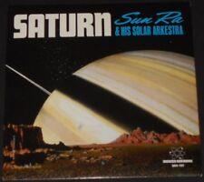 "SUN RA & HIS SOLAR ARKESTRA saturn / mystery mr. ra USA 7"" new YELLOW VINYL"