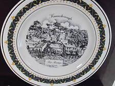 1995 Decor Art Knaresborough UK FORT MONTAGU Ltd Ed Plate