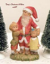 "Fontanini Depose Italy 2.5"" Santa w/Children 1990 Nativity Village Figure 55197"