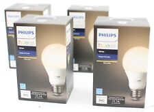 Philips Smart Wireless Bulb A19 LED 60-W Equivalent Dimmable Hue White (4 Pack)