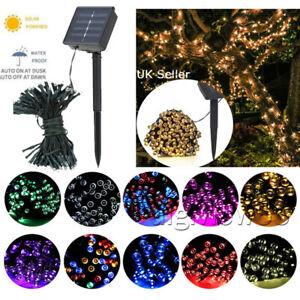 Solar Power Fairy Garden Lights String Outdoor 50/100/200 LED Party Wedding Xmas