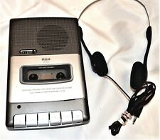 RCA Model No. RP3503-B Personal Portable Recorder & Cassette Player Works Nice