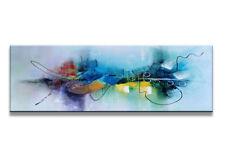 Images sur toile sur cadre 120 x 40 cm abstrait  pret a accrocher 5723