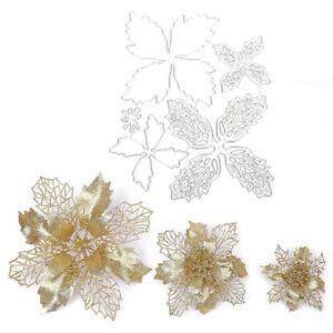 Metal Flower Cutting Dies DIY Making Stereo Flowers Scrapbooking Craft Paper ^KN