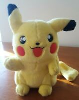 Pokemon Pikachu original Soft Plush toy 1995 1996 Nintendo Hasbro ( movie )