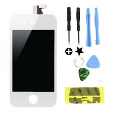Iphone 4s Pantalla Lcd Touch Screen Digitalizador Cristal Panel & Herramientas Etiqueta Blanca