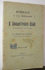 Toupin; Edouard-Frédéric Bégou, vicaire Valence 1888 - World FREE Shipping*