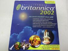 Encyclopedia Britannica 2002 - Deluxe Edition CD for Windows Version - Sealed