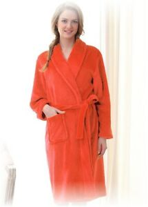 Fabulous ladies/girls bath robe gown soft fleece