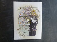 1997 GRENADA ORCHIDS OF THE WORLD 6 STAMP MINI SHEET MNH