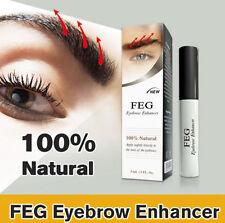 3ml FEG Eyebrow Serum Enhancer Eye Lash Rapid Growth Eyebrow Liquid
