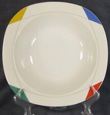Christopher Stuart Montego Bay M2503 Vegetable Serving Bowl Multicolor Rim