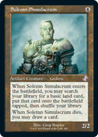 Solemn Simulacrum - Foil x1 Magic the Gathering 1x Time Spiral Remastered mtg ca