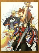 BlazBlue Continuum Shift II 2 3DS 2011 Vintage Pin-Up Print Ad/Poster Art Promo
