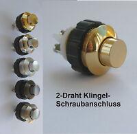 Klingeltaster-9 Farben-Klingelknopf-Klingel-Klingelanlage-Klingeldrücker-Germany
