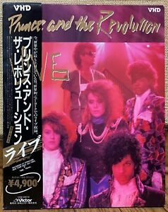 PRINCE and THE REVOLUTION LIVE  JAPAN VHD movie DISC  VICTOR VHM49010
