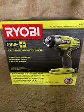 Ryobi One+ 18V 3 Speed Impact Driver P237 - NEW