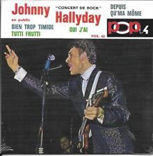 CD CARTONNE (CARDSLEEVE) 4T JOHNNY HALLYDAY CONCERT DE ROCK EN PUBLIC NEUF